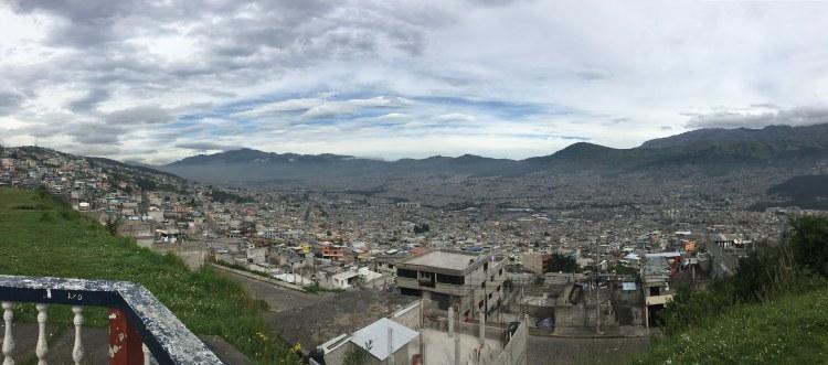 Cotopaxi Quito View