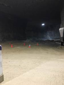 Louisville Salt Mine Interior