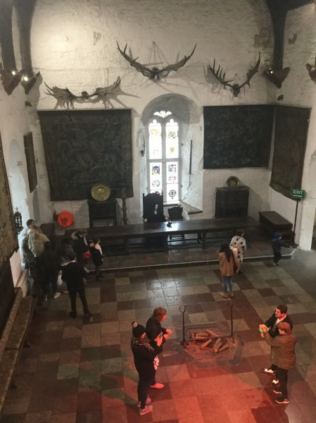 Great Hall at Bunratty Castle